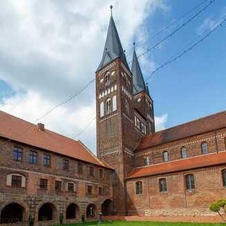 Blick ins Kloster Jerichow